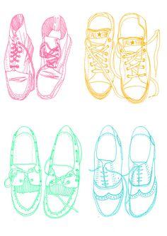 Zapatos, Moda Bocetos, Dibujo, Grabados, Portadas, Ilustraciones, Cuadernos De Dibujo Ilustración, Ilustración De Moda, Zapatos Bosquejar