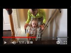 Teaching walking up the stairs. Physical Therapy Exercises, Pediatric Physical Therapy, Physical Therapist, Walking Up Stairs, Perfect Strangers, Cerebral Palsy, Down Syndrome, Pediatrics, Physics