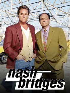 Nash Bridges Best Tv Shows, Favorite Tv Shows, 1990s Tv Shows, Nash Bridges, Aisha Tyler, Don Johnson, Miami Vice, Vintage Tv, Fashion Couple