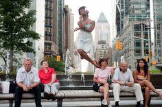 Dançarinos entre nós por Jordan Matter | Revelando Ideias