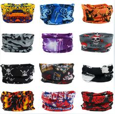 Headkerchief Outdoor Prevent Bask in Seamless Magic Street Dance UV protection Multi Function Scarves Send At Random $0.99 WOW~~~~~