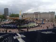 Before the Jubilee concert