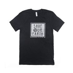 Product Description:  90% Cotton, 10% Polyester Unisex Sizing  Click Here for Sizing Guide  50% of our net profits are dedicated to conservation!