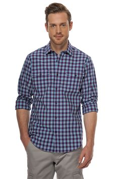 Button Down Shirt, Men Casual, Plaid, Shirt Dress, Mens Tops, Shirts, Fashion, Shopping, Slip On
