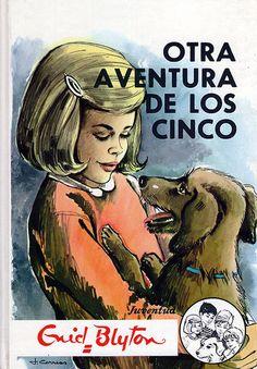 Five Go Adventuring Again by Enid Blyton Comics Vintage, Vintage Children's Books, Vintage Kids, Good Books, My Books, Enid Blyton Books, Nostalgia, Retro Images, Curious Cat
