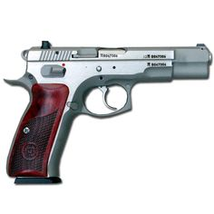 CZ 75B New Edition Stainless 9mm