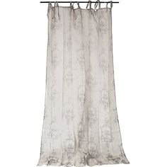 Dot & Bo Notting Hill Curtain (84 CAD) ❤ liked on Polyvore featuring home, home decor, window treatments, curtains, semi sheer panels, flowered curtains, floral curtains, semi sheer curtains e floral home decor