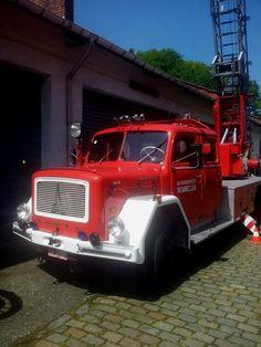 Magirus Deutz fire truck.