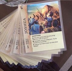 Family Worship Idea Laminate the Bible character cards.