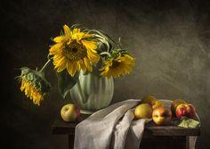 Подсолнухи и нектарины by Оля (Olga) on 500px