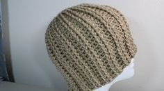 how to crochet a hat with symbols - YouTube