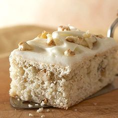 Buttermilk Banana Bars with Cream Cheese Frosting, from Midwest Living