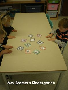 SMACKERS! Number Recognition game or letter recognition