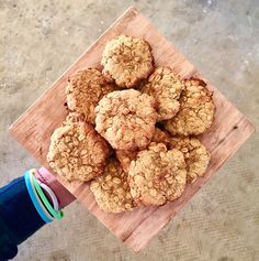 Supercharged Food » Golden Gut Oatmeal Cookies