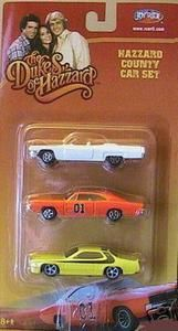 Dukes of Hazzard Cars: Roscoe P. Coltrane& Sheriff& cruiser, Daisy Duke White Jeep Wrangler, and the 1969 General Lee Charger with Confederate Flag Retro Toys, Vintage Toys, White Jeep Wrangler, Dukes Of Hazard, Stocking Stuffers For Men, 1969 Dodge Charger, Play Vehicles, Old School Toys, Vintage Stockings