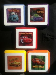 Disney Cars Wall Plaques Kid Nursery Bed Room Decor Art Hangings | eBay