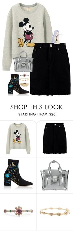 """""""18 April, 2017"""" by itsjavachip ❤ liked on Polyvore featuring Uniqlo, Boohoo, Valentino, 3.1 Phillip Lim, Marrakech and ootd"""