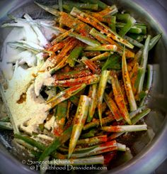 healthfood desivideshi: crisp baked okra or kurkuri bhindi, the versatile and tangy okra chips