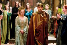 """Sophia Myles and Rufus Sewell in """"Tristan + Isolde"""" (2006)"""