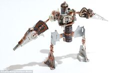 robots made from junk - Google Search