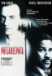 """Philadelphia,"" 1993. Fantastic performances by Tom Hanks and Denzel Washington."