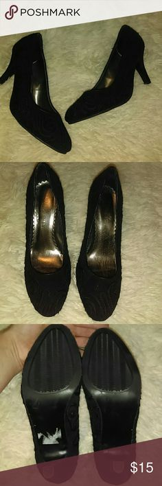 🌹3 for $20 Laura Ashley Pumps Size 6.5 Laura Ashley pumps! Worn once indoors! 2inch heel, very comfortable and easy to walk in :) Laura Ashley Shoes Heels