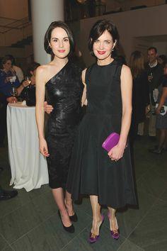 Elizabeth McGovern and Michelle Dockery