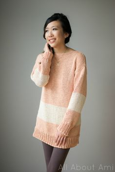 Bahia Sweater using We Are Knitters kit!