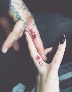 couple, goals, king, love, queen, relationship, tattoo