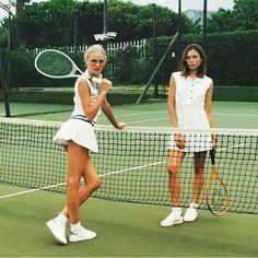 slufoot:  Tennis met Dennis.  by @dennisswiatkowski