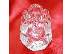 Crystal Ganesha - 30 gms,Buy Crystal Ganesha - 30 gms online from India.