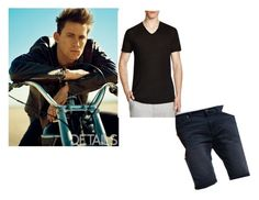 """""""Channing Tatum"""" by maddydanja94 ❤ liked on Polyvore featuring D&G, Vince, Superdry, men's fashion, menswear and blacktee"""