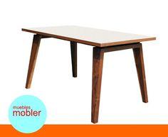 Mesa De Comedor Escritorio Diseño Moderno Retro Vintage - $ 2.800,00