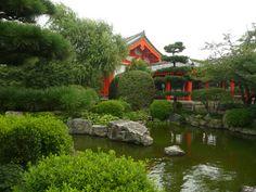 Giardino di Tempio Shintoista - Kyoto, Giappone