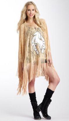2d9d3acc5 Wildfox Couture White Label Sz M Stallion Fringe Peach Lace Poncho *RARE*  NWOT. Sassy BoutiqueWildfoxNordstrom ...