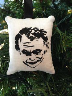 Joker Christmas Ornament Super Hero Comic Book DC Batman Bruce Wayne Villain Gotham Suicide Squad Harley Quinn FREE Shipping to USA! by HollyAndHerHobbies on Etsy