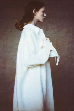 Angela Lindvall by Paolo Roversi for Vogue Italia