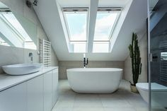 A loft conversion bathroom is a brilliant addition to your home when extending upwards. Get the design right with the help of these inspiring real life spaces
