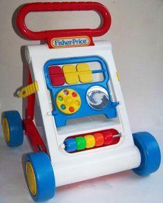 Push Toy = Activity Center Walker - 1990's