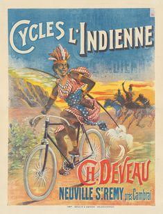 Vintage Travel, Retro Vintage, Monkey Art, Bicycle Brands, Bike Poster, Bicycle Art, France, Old Ads, Vintage Posters