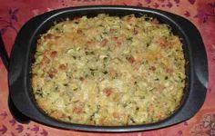 recette du gratin de courgettes au riz
