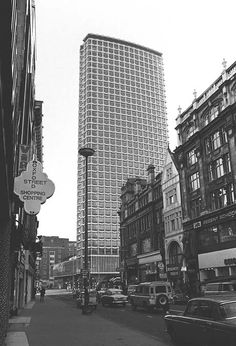 Centre Point is one of London's first skyscrapers, 1972. (AP)