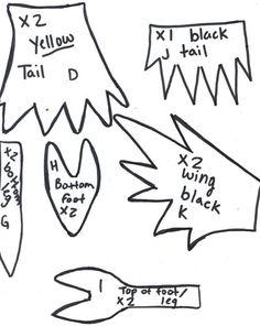 Pokedoll Lapras plush pattern (scan 1) by ~Kurosakou on