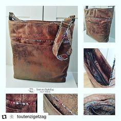 Les Tissus d'Isa sur Instagram: #Repost @toutenzigetzag • • • • • • Fini ! J'ai enfin trouvé le temps de finir le sac Flo, cadeau d'anniversaire pour ma soeur. Mieux vaut…