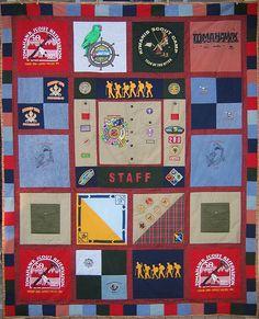 Scout memories quilt