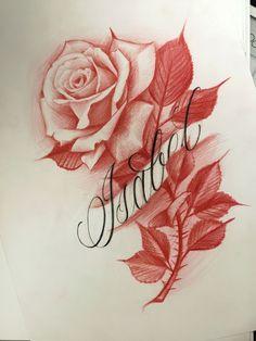 - Flower Tattoo Designs -Rosen - Flower Tattoo Designs - - (notitle) - b dibujo 20 Different Styles of Temporary Stickers Body Art Cool Body Decoration Women Man Arm Stickers Rose Drawing Tattoo, Tattoo Sketches, Tattoo Drawings, Body Art Tattoos, Sleeve Tattoos, Floral Tattoo Design, Flower Tattoo Designs, Flower Tattoos, Elfen Tattoo