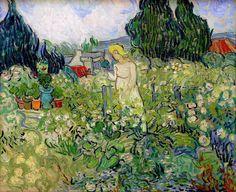 Vincent van Gogh Painting, Oil on Canvas Auvers-sur-Oise: June, 1890 Musée d'Orsay Paris, France, Europe F: JH: 2005 Image Only - Van Gogh: Marguerite Gachet in the Garden Art Van, Van Gogh Art, Vincent Van Gogh, Paul Cezanne, Art Triste, Van Gogh Pinturas, Van Gogh Paintings, Van Gogh Museum, Post Impressionism