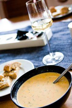 Seafood Recipes, Soup Recipes, New Recipes, Snack Recipes, Dessert Recipes, Snacks, Good Food, Yummy Food, Food Fantasy