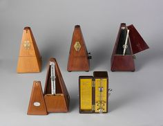 Vintage Metronome De Maelzel Wind Up Swiss Metronome E