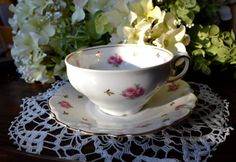 Winterling Fine Bone China Tea Cup and Saucer from Germany